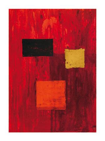 Einfaches Quadrat Kunstdruck Phillips Jodi
