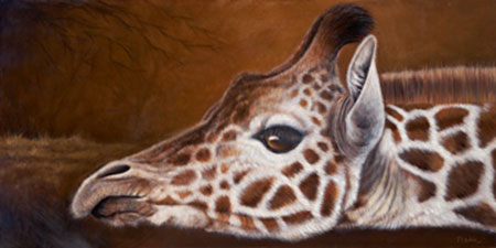Giraffe Plath Jutta