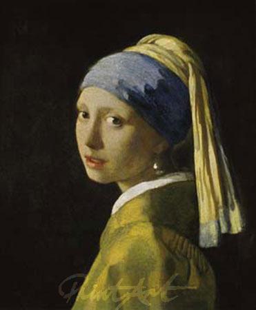 Ragazza con l'orecchino di perla Kunstdruck Vermeer Johannes