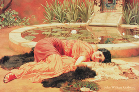 Dolce fa niente Kunstdruck Godward John William