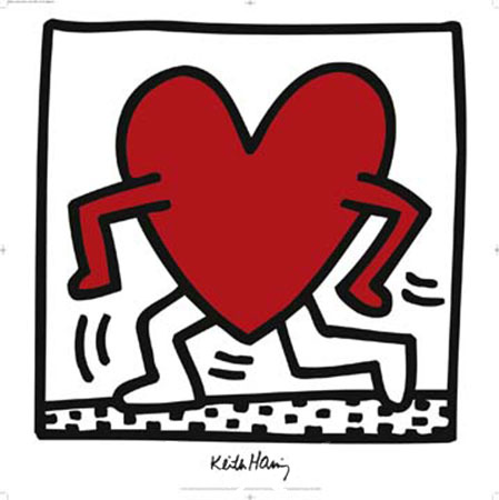 Untitled 1984 Kunstdruck Haring Keith
