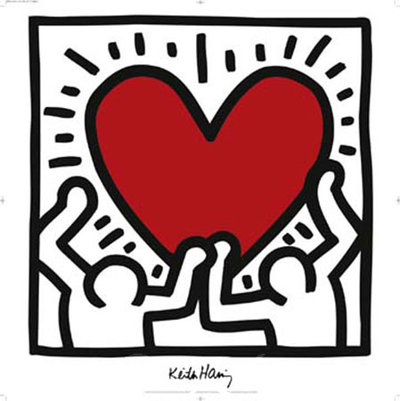 Untitled 1988 Kunstdruck Haring Keith