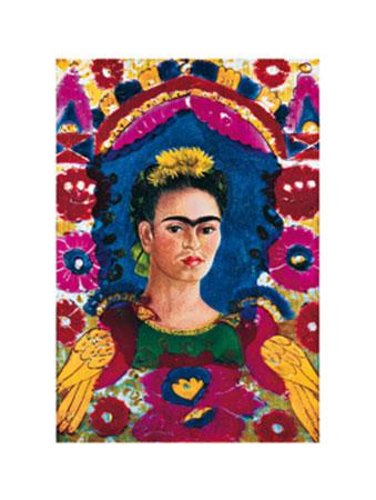 The Frame Kunstdruck Kahlo Frida