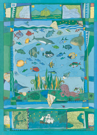 Wasser Kunstdruck Konstantinov Vitali P.