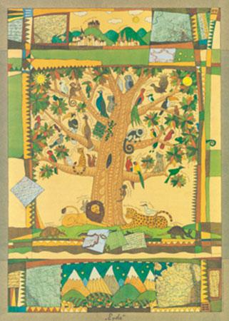 Erde Kunstdruck Konstantinov Vitali P.