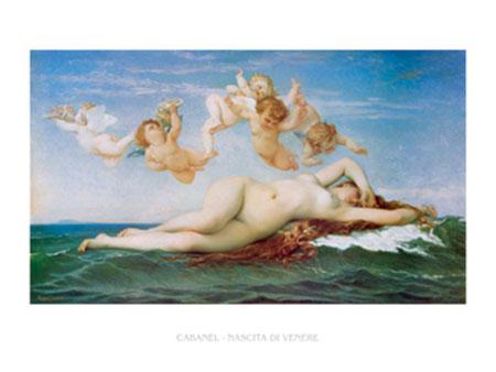 Nascita di Venere Kunstdruck Cabanel Alexandre