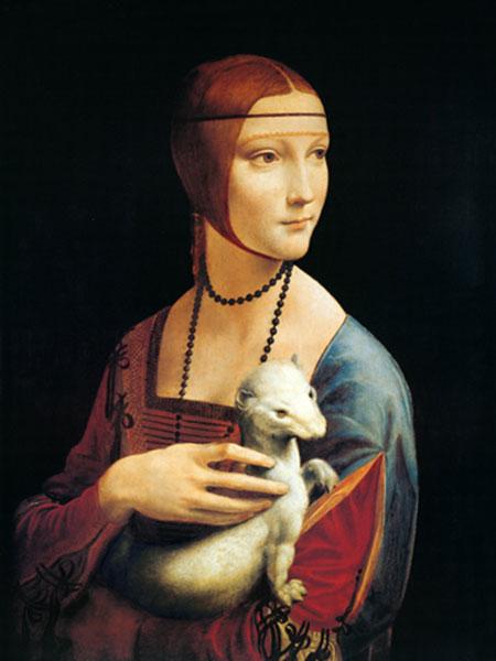 Frau mit Hermelin Cabanel Alexandre