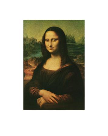 Mona Lisa Kunstdruck Da Vinci Leonardo