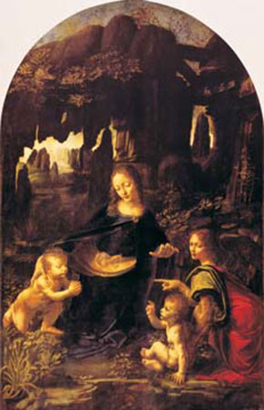 Vergine delle rocce Cabanel Alexandre