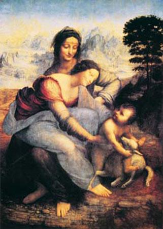Die heilige Anna Cabanel Alexandre