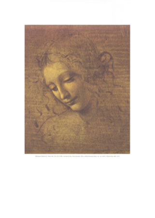 Testa di fanciulla, 1506 Kunstdruck Leblanc Richard