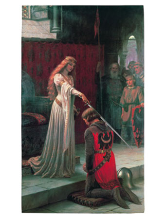 The Accolade, 1901 Kunstdruck Yoga
