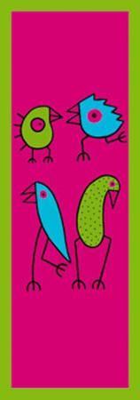 We are just fine Hybriddruck mit Perleffekt BIRDMAN Hans Lan