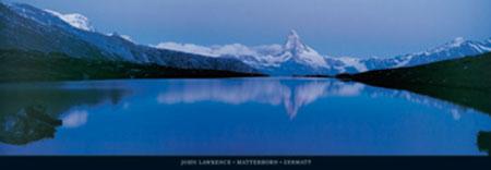 Matterhorn, Zermatt Kunstdruck Lawrence John