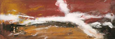 Massai Kunstdruck auf Naturpapier Allen Mel