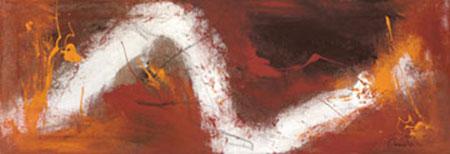 Kongo Kunstdruck auf Naturpapier Allen Mel