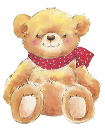 Teddy Kunstdruck Makiko