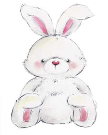 Rabbit Kunstdruck Makiko