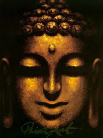 Buddha Kunstdruck Mahayana