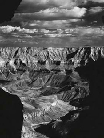 Grand Canyon National Park Kunstdruck The Monochrome G