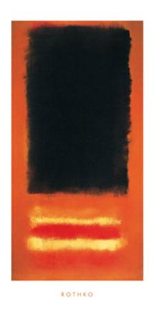 Untitled Kunstdruck Rothko Mark