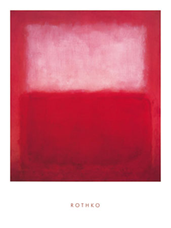 White over Red Kunstdruck Rothko Mark