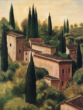 Tuscan Hillside I Kunstdruck Moretti Maurizio