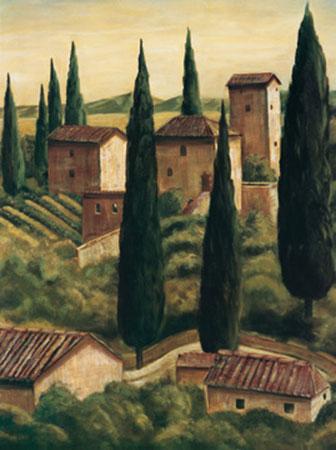 Tuscan Hillside II Kunstdruck Moretti Maurizio