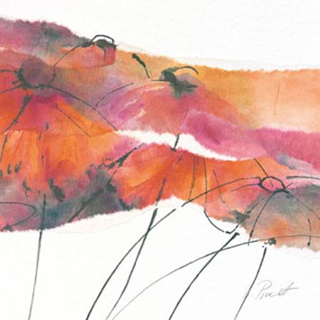 Modern Poppy I Kunstdruck Peuckert Marta
