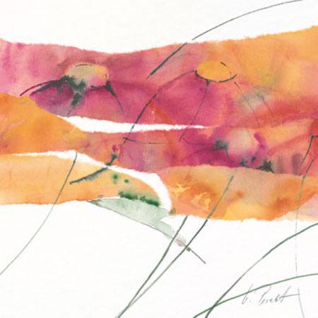 Modern Poppy III Kunstdruck Peuckert Marta