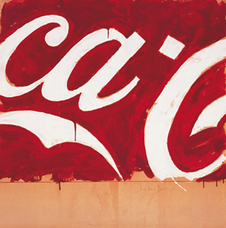 Coca Cola Kunstdruck Schifano Mario