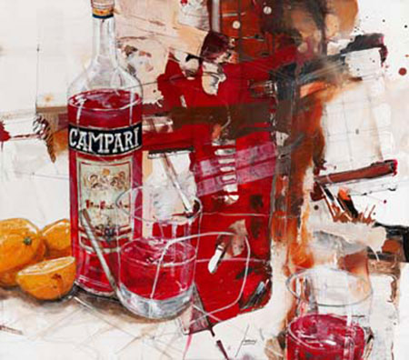 Das Rot, das aus der Flasche kom Mayer Norbert