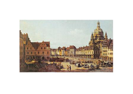 Dresden, Neumarkt Kunstdruck Nilsen Jim