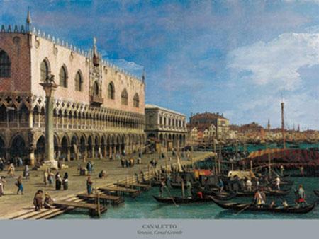 Venezia, Canal Grande Kunstdruck Nilsen Jim