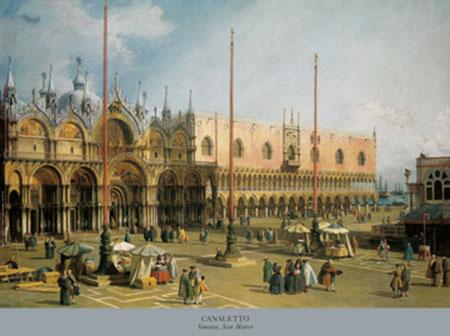 Venezia, San Marco Kunstdruck Nilsen Jim