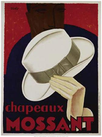 Chapeaux Mossant Kunstdruck Olsky