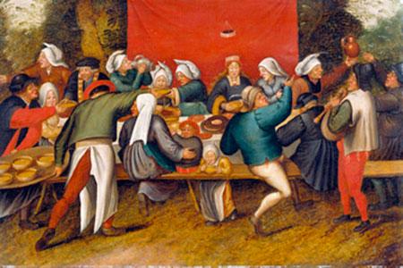 Hochzeitsmahl Brueghel Pieter d. J.