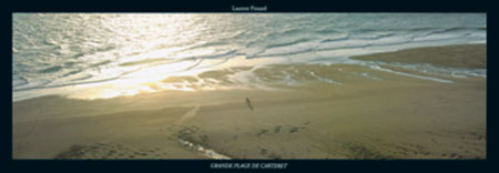 Grande Plage de Carteret Kunstdruck Pinsard Laurent