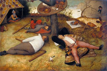 Das Schlaraffenland Brueghel Pieter d. J.
