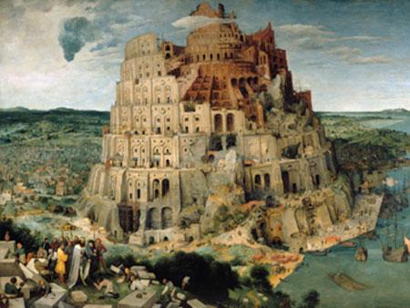 Der Turmbau von Babel Brueghel Pieter d. J.