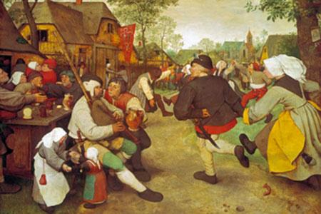 Bauerntanz Brueghel Pieter d. J.