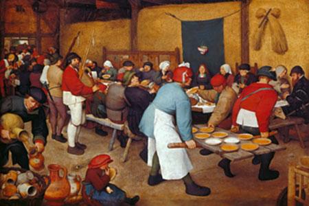 Bauernhochzeit Brueghel Pieter d. J.