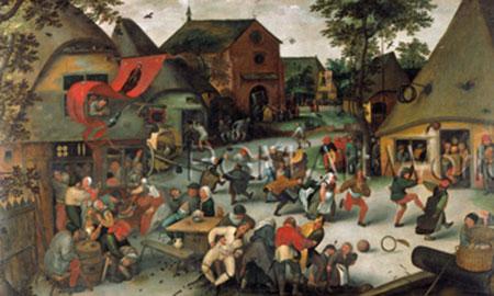 Die Kirmis von San Giorgio Brueghel Pieter d. J.