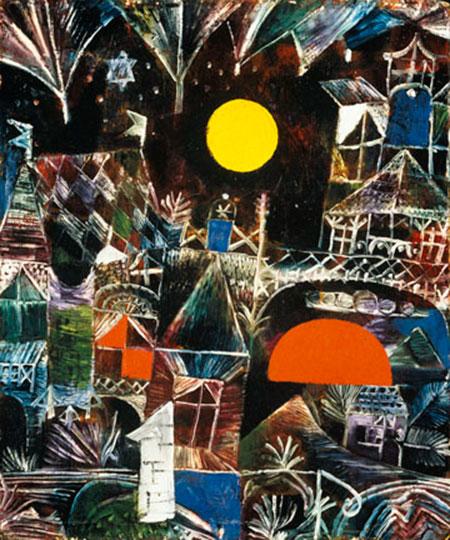 Mondaufgang - Sonnenuntergang Klee Paul