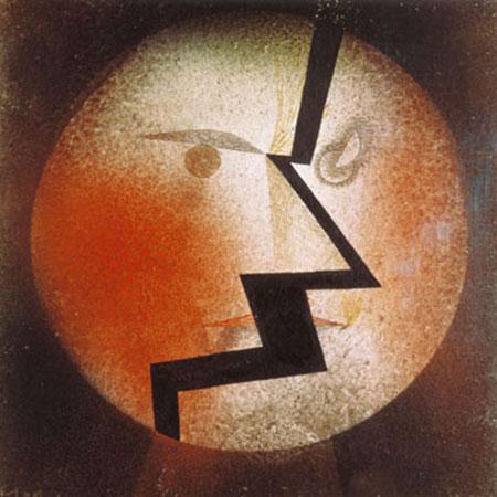 Physiognomischer Blitz Klee Paul