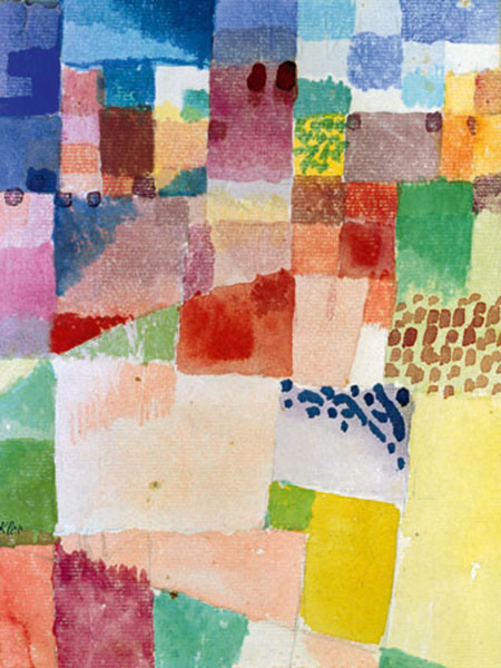 Motiv aus Hammamet Klee Paul