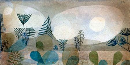 Oceanische Landschaft Klee Paul