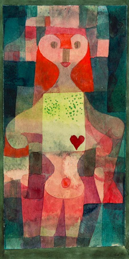 Herzdame Klee Paul