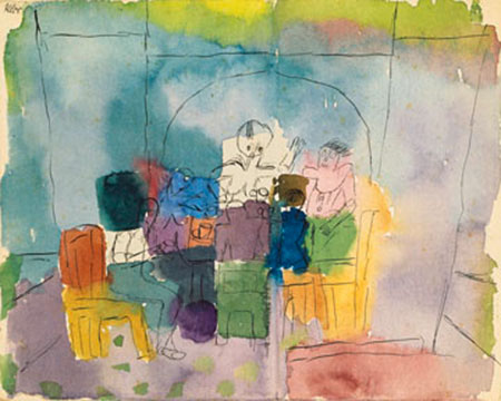 Tischgesellschaft Klee Paul