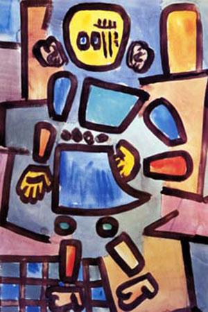 Ohne Titel (Gliederpuppe) Klee Paul